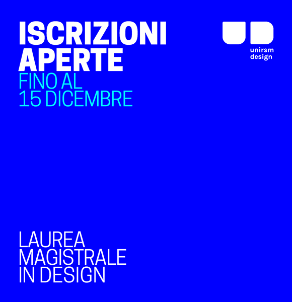 Corsi di laurea in design universit degli studi di san for Laurea magistrale design