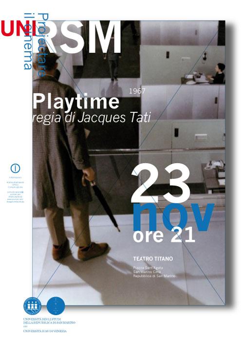 cineforum playtime