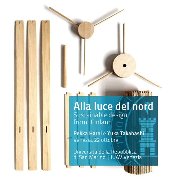 Conferenza Design sostenibile dalla Finlandia