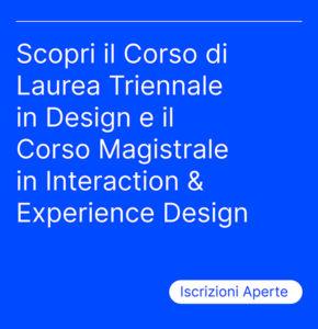 Iscrizioni Aperte - Scarica la brochure - unirsm design